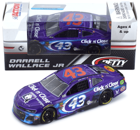 Bubba Wallace #43 1/64th 2018 Lionel Click N Close Daytona 500 Raced version Camaro
