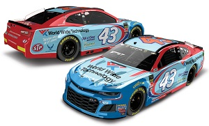 Bubba Wallace #43 1/64th 2018 Lionel World Wide Technology Camaro