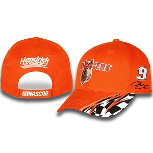 Chase Elliott #9 2018 Hooter's orange twill adjustable hat