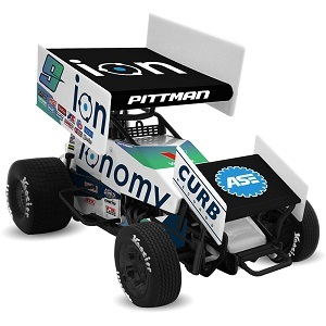 Daryn Pittman #9 1/64th 2018 R &R Enterprises Ionomy sprint car