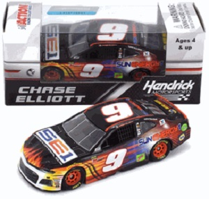 Chase Elliott  #24 1/64th 2017 Lionel SunEnergy1 Chevy SS