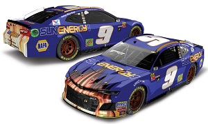 Chase Elliott #9 1/24th 2018 Lionel Sunenergy Blue Watkins Glen First Win Camaro