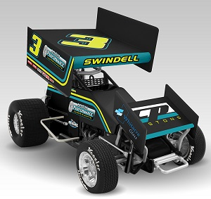 Sammy Swindell #3 1/64th 2018 R &R Enterprises High Performance Oils sprint car