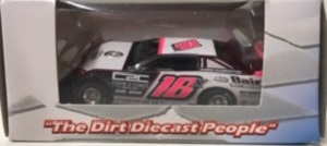 Michael Page #18x 1/64th 2020 ADC Baird Truck and Trailer Sales dirt late model