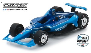 Felix Rosenqvist #10 1/64th 2019 Greenlight NTT Data Indycar
