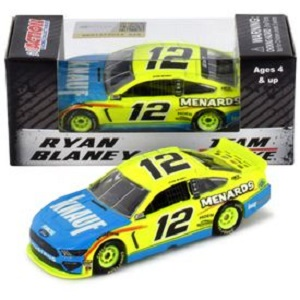 Ryan Blaney #12 1/64th 2019 Lionel Menards/Knauf Insulation Mustang