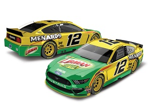 Ryan Blaney #12 1/64th 2019 Lionel Menards/Libman Mustang