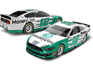 Ryan Blaney #12 1/64th 2019 Lionel Money Lione Mustang