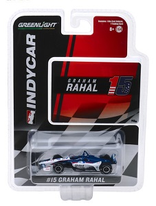 Graham Rahal #15 1/64th 2019 Greenlight United Rentals Indycar