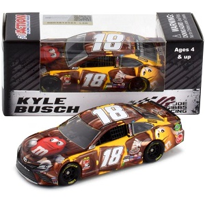 Kyle Busch #18 1/64th 2019 Lionel M and Ms Chocolate Bar Toyota