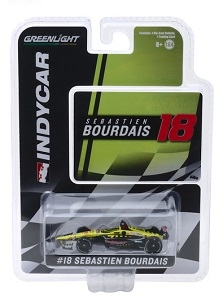 Sebastien Bourdais #18 1/64th 2019 Greenlight Seal-Master Indycar