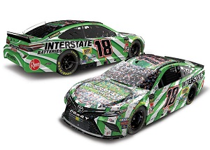 Kyle Busch #18 1/64th 2019 Lionel Interstate Batteries Auto Club Speedway win Toyota