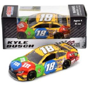 Kyle Busch #18 1/64th 2019 Lionel M and Ms Toyota Camry