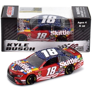 Kyle Busch #18 1/64th 2019 Lionel Skittles Red White Blue Toyota Camry