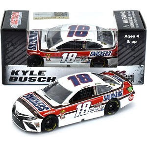 Kyle Busch #18 1/64th 2019 Lionel Snickers Darlington Toyota Camry