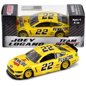 Joey Logano #22 1/64th 2019 Lionel Pennzoil Mustang