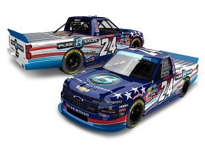 Brett Moffitt #24 1/64th 2019 Lionel Plan B Sales Veterans Silverado