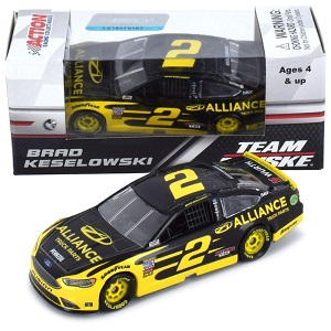 Brad Keselowski #2 1/64th 2019 Lionel Alliance Mustang