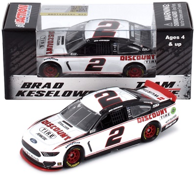 Brad Keselowski #2 1/64th 2019 Lionel Discount Tires Mustang