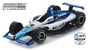 Takuma Sato #30 1/64th 2019 Greenlight MI-JACK Indycar