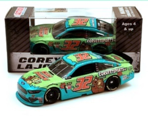 Corey LaJoie #32 1/64th 2019 Lionel Keen Parts Scooby Do Mustang