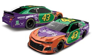 Bubba Wallace #43 1/64th 2019 Lionel Victory Junction Darlington Throwback Camaro