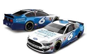 Ryan Newman #6 1/64th 2019 Lionel Wyndham Rewards Mustang
