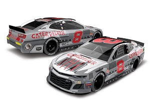Daniel Hemric #8 1/64th 2019 Lionel Caterpillar Darlington Throwback Camaro