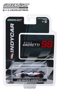 Marco Andretti #98 1/64th 2019 Greenlight US Concrete Indycar