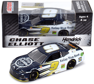 Chase Elliott  #9 1/64th 2019 Lionel Kelley Blue Book Camaro