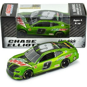 Chase Elliott  #9 1/64th 2019 Lionel Mountain Dew Standard Camaro