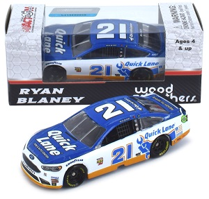 Ryan Blaney #21 1/64th 2017 Lionel Quick Lane Ford
