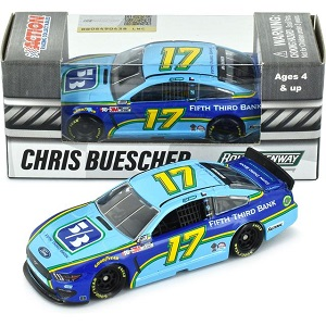 Chris Buescher #17 1/64th 2020 Lionel Fifth Third Bank Mustang