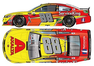 Dale Earnhardt Jr #88 1/64th 2017 Lionel Axalta Service King 600 starts Chevy SS