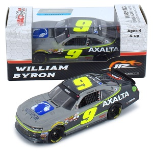 William Byron #9 1/64th 2017 Lionel Axalta Iowa win Camaro