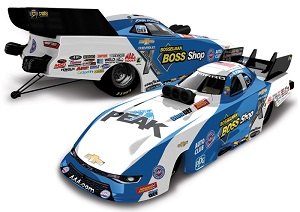 John Force 1/64th 2018 Lionel Boss Shops Camaro Funny Car