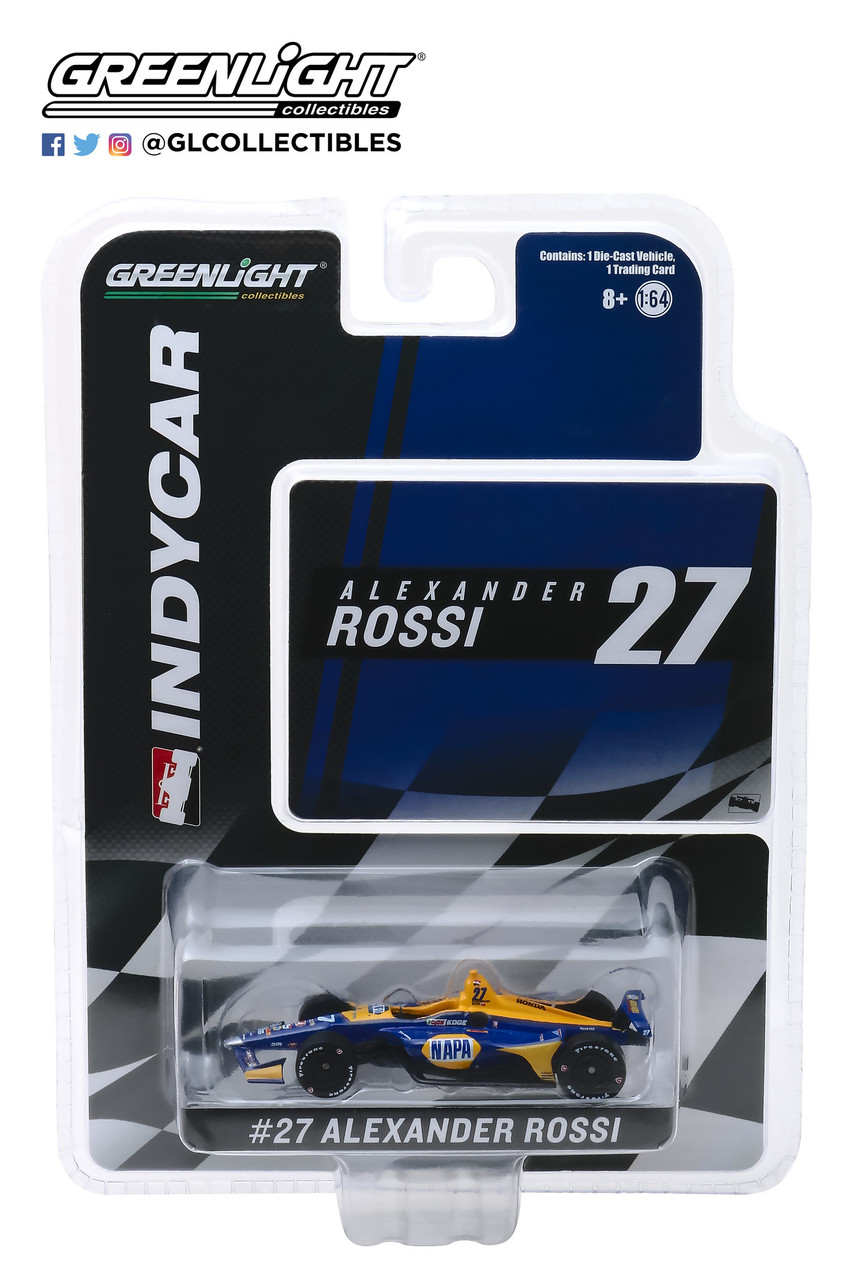 Alexander Rossi #27 1/64th 2019 Greenlight NAPA Indycar