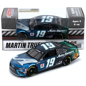 Martin Truex Jr #19 1/64th 2020 Lionel Auto Owners Insurance Sherry Strong Toyota
