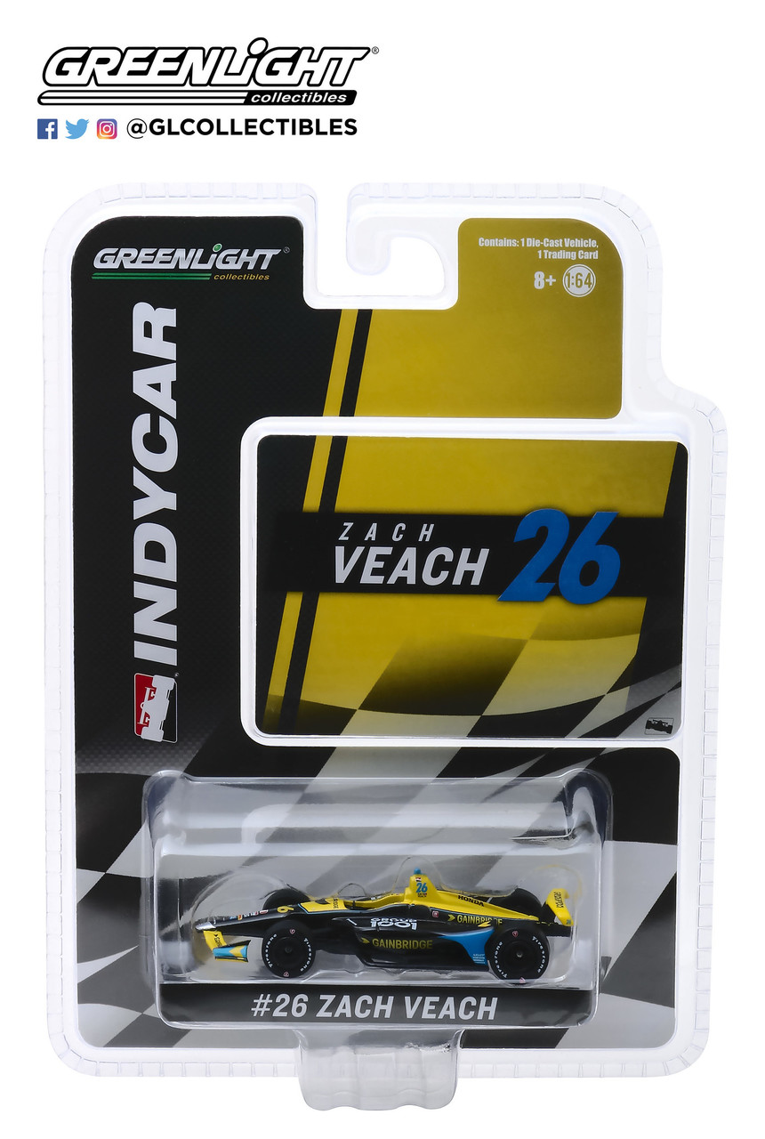 Zach Veach #26 1/64th 2019 Greenlight Gainbridge Indycar