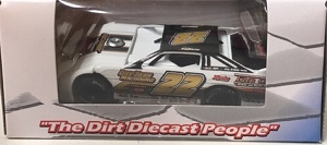 Chris Ferguson #22 1/64th 2020 ADC K&K Trophies dirt late model