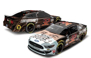 Corey LaJoie #32 1/64th 2020 Lionel Keen Parts Face Mask Mustang
