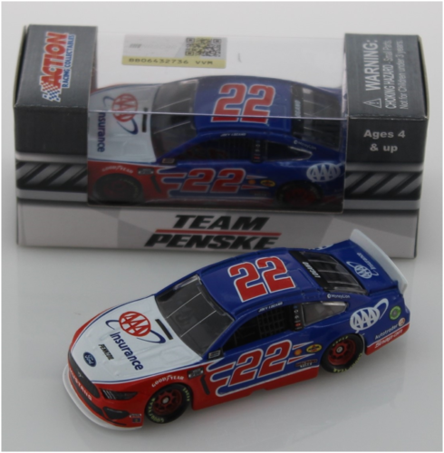 Joey Logano #22 1/64th 2020 Lionel AAA Insurance Mustang