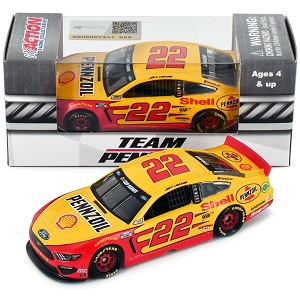 Joey Logano #22 1/64th 2020 Lionel Shell-Pennzoil Mustang