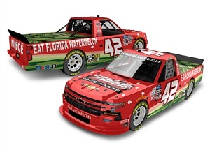Ross Chastain #42 1/64th 2020 Lionel Circle Track Parts/Watermelon Association Silverado