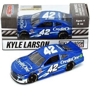 Kyle Larson #42 1/64th 2020 Lionel Credit One Bank Camaro