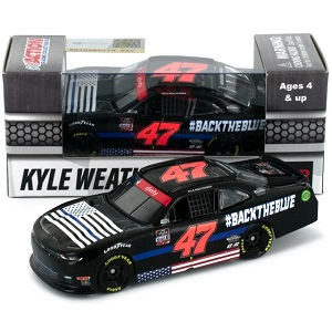 Kyle Weatherman #47 1/64th 2020 Lionel #Backtheblue Camaro