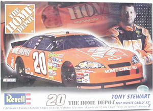 Tony Stewart #20 1/24th 2007 Revell Home Depot  model kit