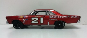 Marvin Panch #21 1/24th  University of Racing  Augusta Motor Sales 1965  Ford Galaxie