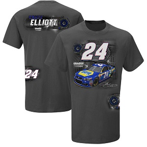 Chase Elliott #24 NAPA Burnout tee shirt