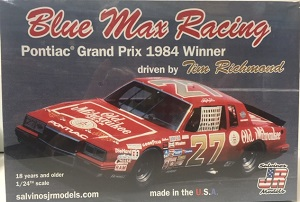 Tim Richmond #27 Blue Max Old Milwaukee 1984 Pontiac Grand Prix 1984 winner Salvinos JR Model kit